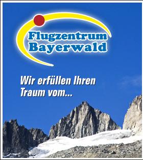 Flugzentrum Bayerwald - Gleitschirmfliegen und Ballonfahrten